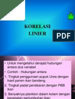 07 Korelasi Linear