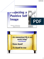 Projecting a Positive Self Image