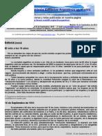 Boletin Nº 33 de la Comision Exiliados Argentinos en Madrid