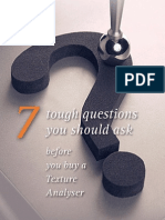 7 Tough Questions You Should Ask Before Buying a Texture Analyser - Low Resolution