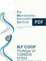 Online PMES - BLP Privilege of Torrens System Proceedings