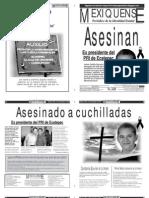 Versión impresa del periódico El mexiquense 17 septiembre 2012