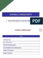 Kapadia Consultants Intro Slide Show - API