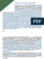 List of Koc Std-rp-015 Series