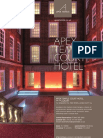 Apex Temple Court Hotel Brochure