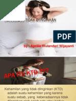 Kehamilan Tidak Diinginkan Ppt