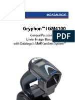 Datalogic Gryphon GM4100 User Guide