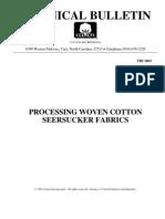 TRI 2003 Processing Woven Cotton Seersucker Fabrics[1]