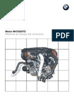 Motor M47D20TÜ  Manual de trabajo del seminario BMW