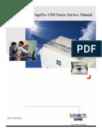 Konica Minolta QMS Pagepro 12XX Service Manual