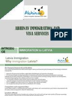 Latvia Immigration Visa Consultant