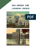 Urban Area Vs. Suburban Area
