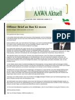 AAWA Aktuell Nr. 52 - Januar 2012