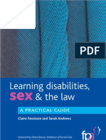 Learning Disabilities Sex and the Law Look Inside