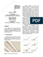 Modellazione Di Progetto Di Un Elemento Strutturale in C.a.P. Di Geometria Non Regolare