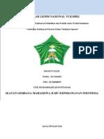 Penerapan Kolaborasi Perawat Dalam Tindakan Operasi