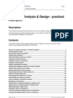 Howto Do Analysis and Design