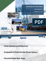Future Rail Corridors Study of Jacksonville traffic