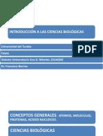 Conceptos Generales- Atomos- Moleculas- Proteinas- Acidos Nucleicos-ppt 2- Biol 101 -103
