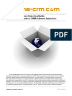 5 Step CRM Selection White Paper