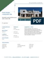 Country Villa For Sale In Santa Eulalia Ibiza