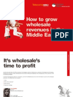 How to grow wholesale revenues in the Middle East