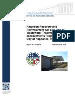 Nappanee, Ind., EPA OIG report