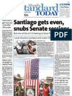 Manila Standard Today - Tuesday  (September 18, 2012) Issue