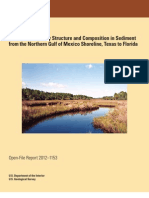 Benthic Community Structure and Composition in Sediment From the Northern Gulf of Mexico Shoreline, Texas to Florida