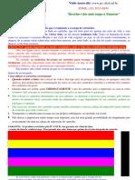 Teste de cores para impressao