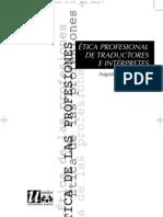 21- ÉTICA  PROFESIONAL DE TRADUCTORES