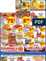 Friedman's Freshmarkets - Weekly Specials - September 27 - October 3, 2012