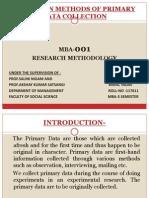 Report on Methods of Primary Data..doc.x