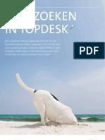 Zoeken met TOPdesk