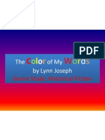 the color of my words pptx