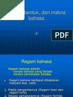 ragam bahasa ppt