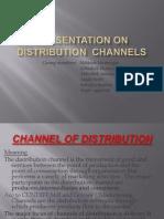 Presentation on Marketing Channels