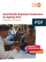 Asia Pacific Regional Conference on Ageing 2012