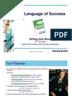 2008 Sant Language of Success