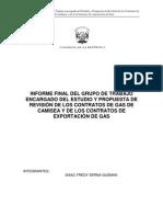 Informe Final Evaluacion y Analisis de Los Contratos Del Gas de Camisea