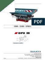 Despiece DPX28