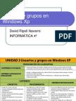 Usuarios y Grupos en Windows Xp
