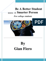 How To Be A Better Student And A Smarter Person