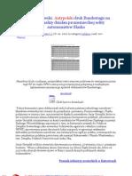 Antypolski druk Bundestagu na kanwie analizy dzialan proniemieckiej sekty autonomistowow Slaska 20120128 Stefan Kosiewski