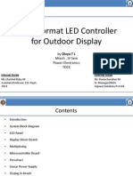 Large Format LED Controller for Outdoor Display 01052012