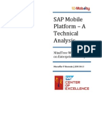 SAP Mobile Platform - A Technical Analysis