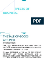 Sale of Goods Act.