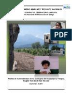 Análisis de Vulnerabilidad Verapaz y Guadalupe 092011