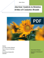 CSR on Branding- Cosmetic Brands