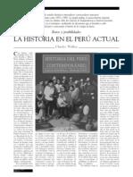 Charles Walker - La historia en el Perú actual. Retos y posibilidades